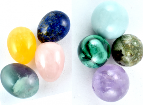 Mini Eggs & Spheres