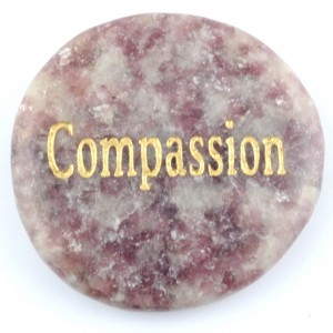 Crystals Wholesale Sydney Polished Crystal Word Stone Compassion 006 (3)