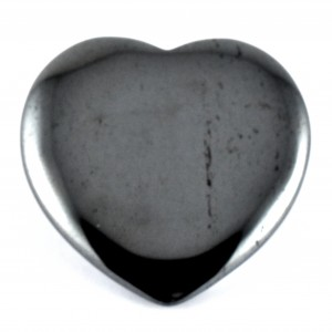 Wholesale Crystals Online Polished Crystal Heart hematite