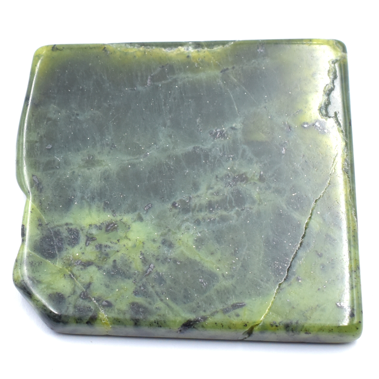 Jade Nephrite Slabs Polished Pieces crystals wholesalers