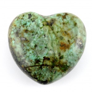 Australia Crystals Wholesale Natural Crystal Carvings Heart African Turquoise