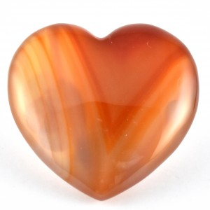 Wholesale Crystals Online Polished Crystal Heart Carnelian