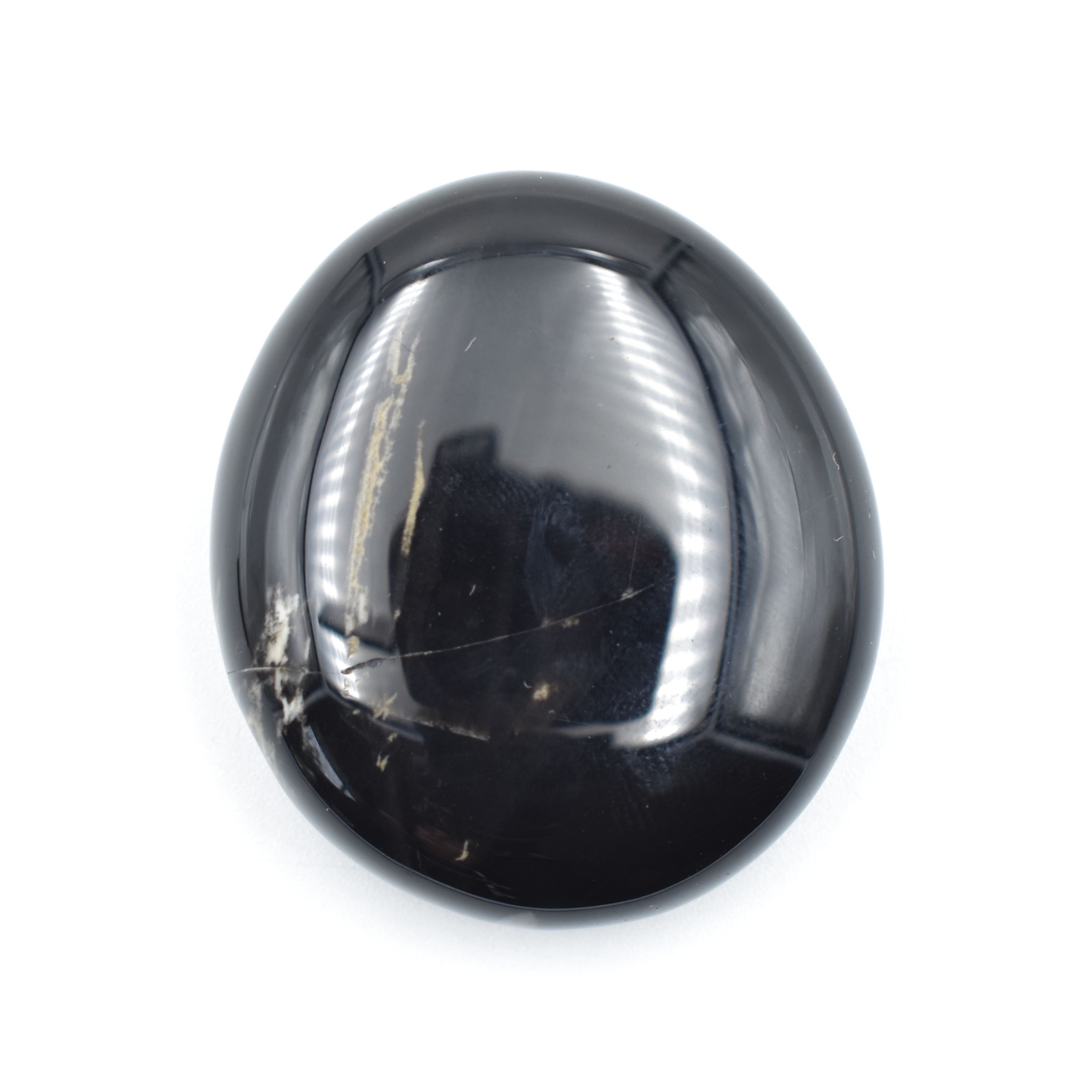 Onyx Black Palm Stone wholesale crystals for sale