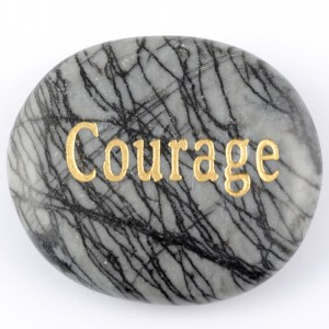 Crystals Wholesale Sydney Polished Crystal Word Stone Courage  046 (2)