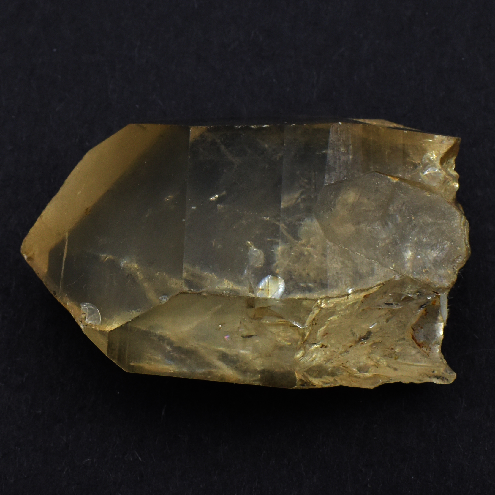 Natural Crystal Citrine Point