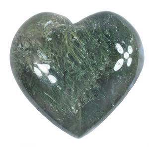 Green Moss Agate Small Heart natural crystal wholesale