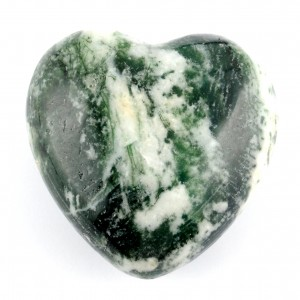 Australia Crystals Wholesale Natural Crystal Carvings Heart tree agate