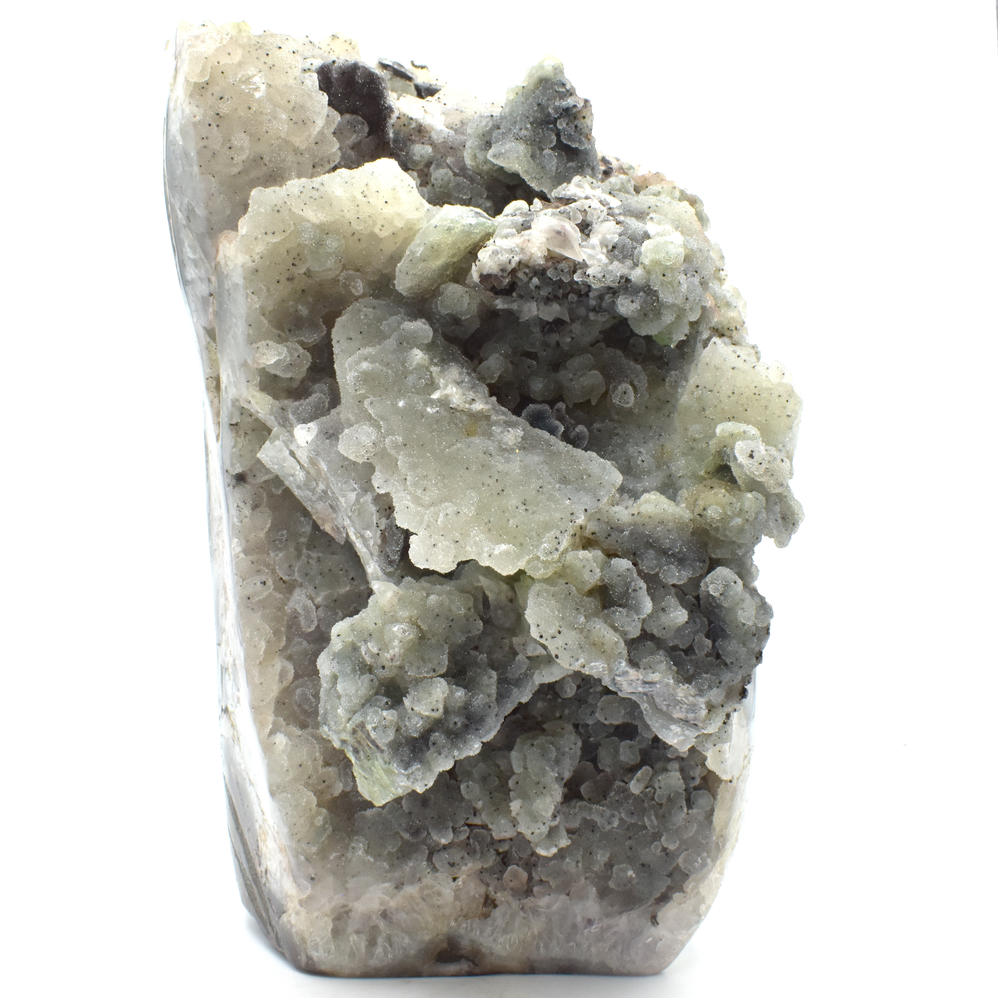 Prehnite with Cut Base Formation wholesale rocks and crystals