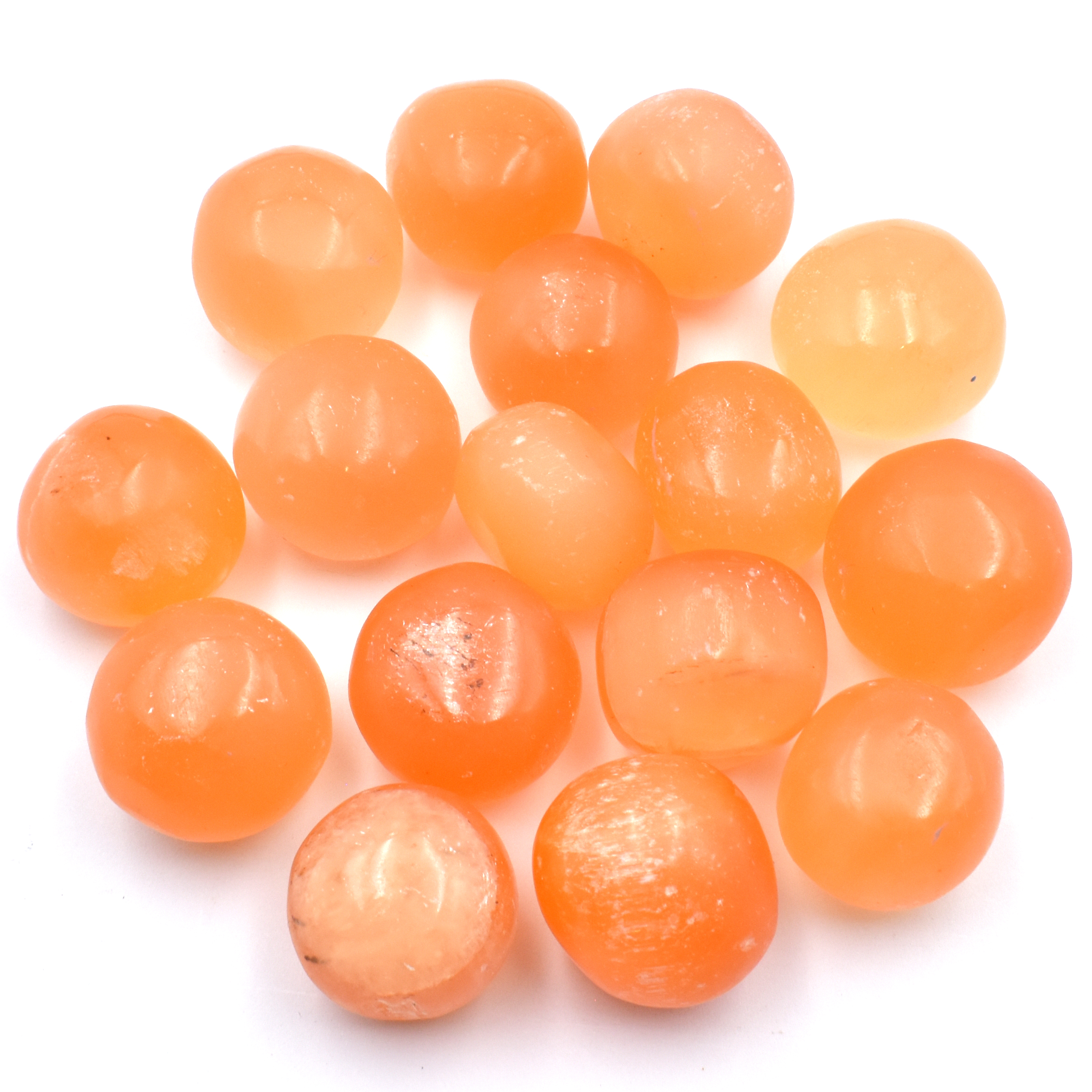 Red Selenite Tumbled Stones wholesale crystals melbourne