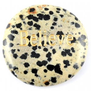 Crystals Wholesale Sydney Polished Crystal Word Stone Believe  090 (6)