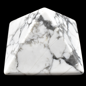 White Howlite Pyramids wholesale rocks and crystals
