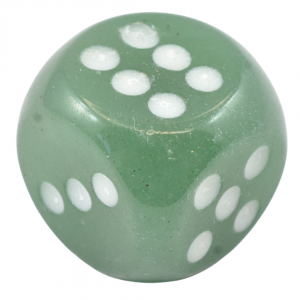 Green Adventurine Dice Engraved Stone Sets wholesale crystals for sale