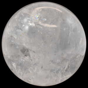 Clear Quartz Sphere simply crystals of the world