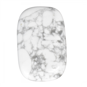 White Howlite Rectangle Stone wholesale crystals and stones