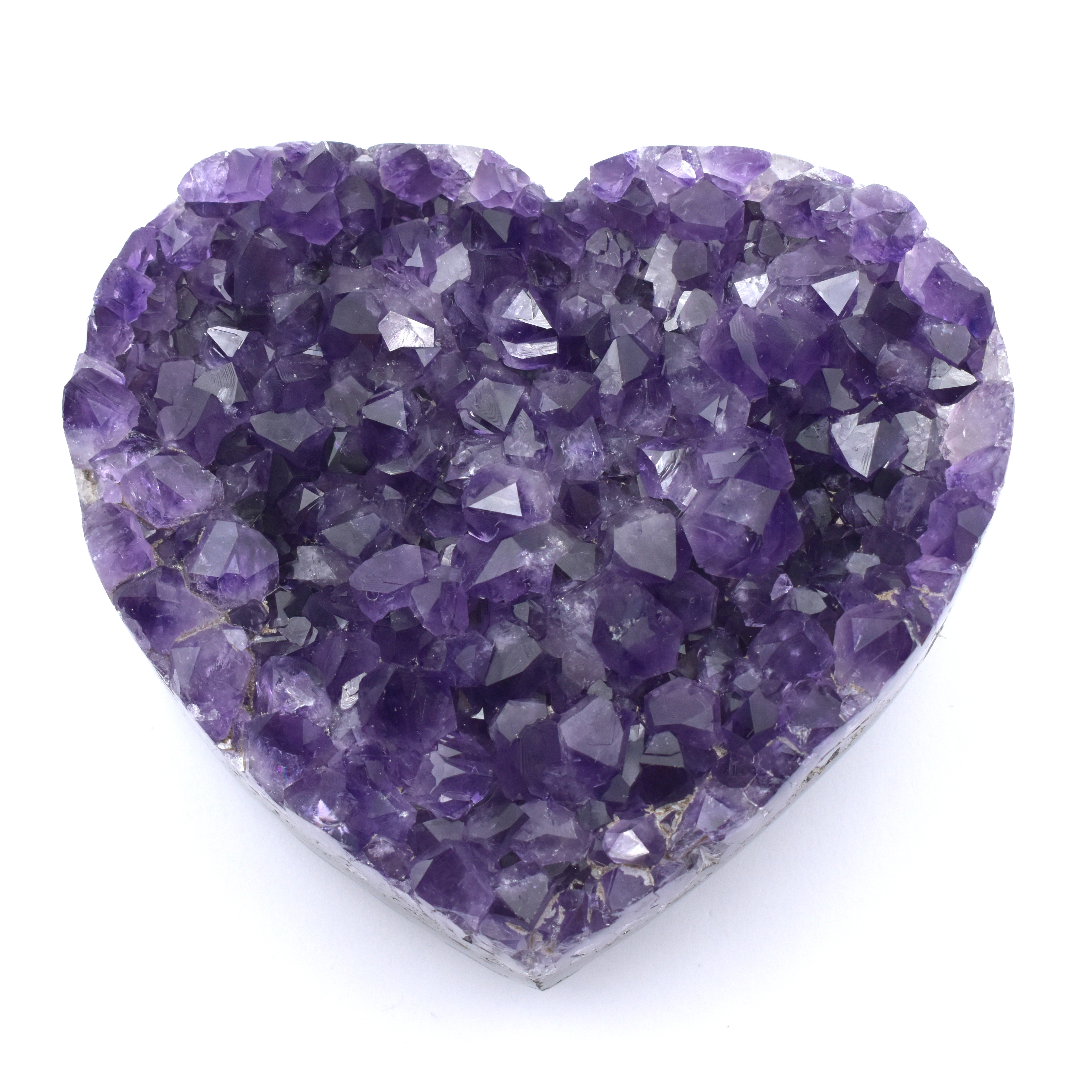 Amethyst Heart Cluster Hearts crystals wholesale