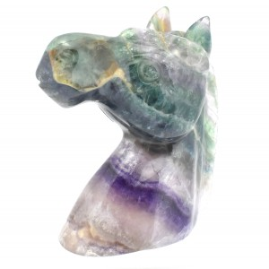 Wholesale Crystals Horse Carvings Fluorite