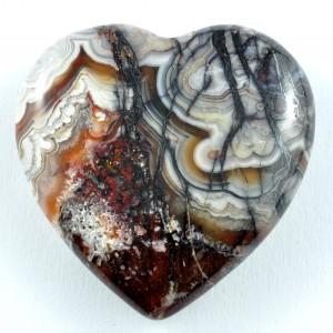 Crystal Carvings Wholesale Australia Crystal Heart Agate Crazy Lace Red
