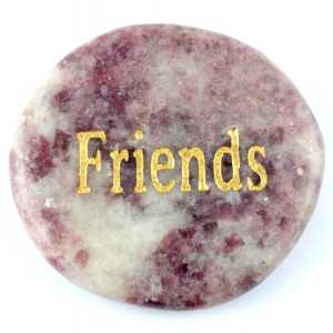 Crystals Wholesale Sydney Polished Crystal Word Stone friends