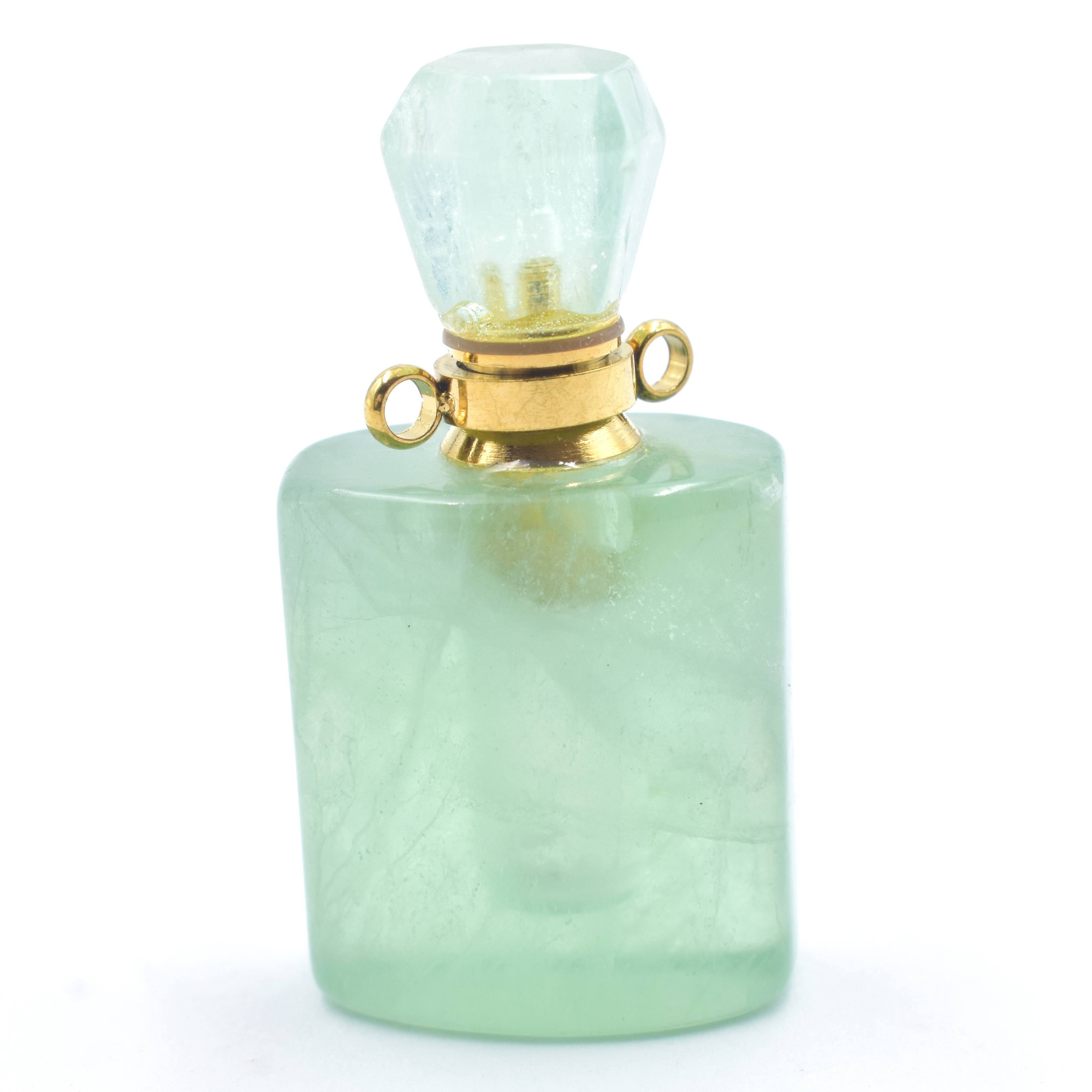 Fluorite Green Perfume Bottle Various Shapes natural crystal wholesale