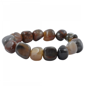 Petrified wood Tumbled Bracelets wholesale crystals for sale