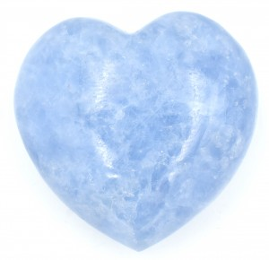 Blue Calcite Hearts natural crystals wholesale