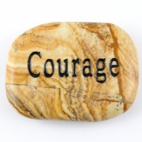 Crystals Wholesale Sydney Polished Crystal Word Stone Courage  046 (3)