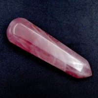 Rose Quartz Wands Six Sided buy wholesale crystals
