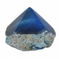 Blue Agate Top polished Generators wholesale rocks and stones