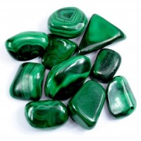 Crystal Wholesale Australia Sydney Tumbled Crystal Malachite