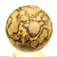 Crystals Wholesale Polished Healing Shape Crystal Sphere Mini jasper leopardskin brown