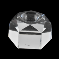 Glass Hexagon medium Crystal Ball Stand crystals and stones wholesale australia