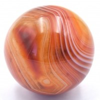 Banded Carnelian Sphere natural crystal wholesale