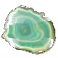 Agate Green '6' Agate Slices simply crystals of the world