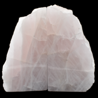 Rose Quartz Bookends wholesale crystals australia