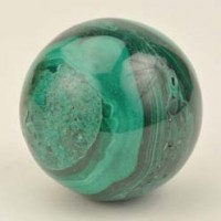 Wholesale Rocks and Stones Crystal Ball Sphere Malachite