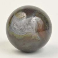 Crystals Wholesale Crystal Ball Sphere Black and White Agate