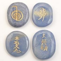 Crystals and Stones Wholesale Australia Reiki Set Aventurine Blue