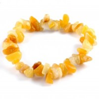Australia Wholesale Crystals chip bracelet yellow jade