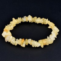 wholesale crystals adelaide yellow aventurine chip bracelet (3)