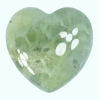 Prehnite Heart Small wholesale crystals and stones