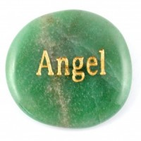 Crystals Wholesale Sydney Polished Crystal Word Stone Angel  074 (4)