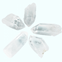 Clear Quartz Points Large wholesale crystals and stones
