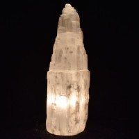 Wholesale Rocks and Crystals Selenite Lamp