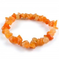 Australia Wholesale Crystals jewellery chip bracelet red aventurine