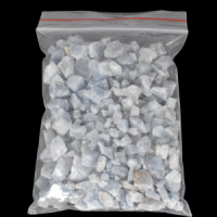 Blue Calcite Small Rock Clusters crystals and stones wholesale australia