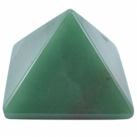 Green Aventurine Size 5 Pyramids wholesale crystals and stones