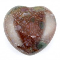 Australia Crystals Wholesale Natural Crystal Carvings Heart Bloodstone
