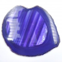 Purple '13' Agate Slices wholesale crystals online