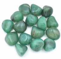 Coloured Green Agate Tumbled Crystals wholesale crystals and stones