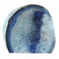 crystal gems for sale agate candle holders Blue